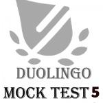 آزمون آزمایشی دولینگو 5