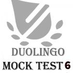 آزمون آزموشی دولینگو 6