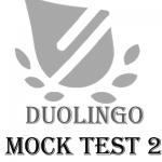آزمون آزمایشی دولینگو 2